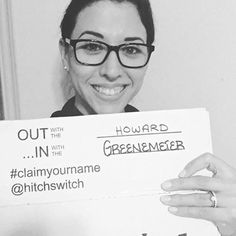 New Name☑️☑️☑️ #HitchSwitch #namechange #claimyourname 📸: @jesshoward05