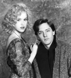 Molly Ringwald & Andrew McCarthy publicity photo for Pretty in Pink (1986)