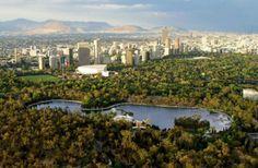 Ciudad de #México y su bosque de #Chapultepec. Preciosa imagen. Marisa TR Tour By Mexico - Google+