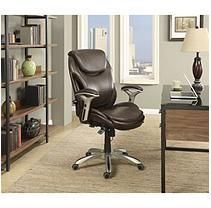Wellness By Design Air Bonded Chair Brown High Back Chairs