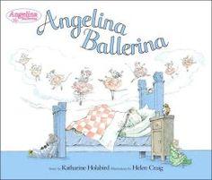 Angelina Ballerina - favorite book as a kid!