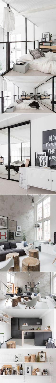 loft estilo escandin