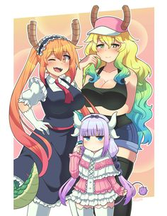 Dragon Maid Poster by Kaibuzetta PREORDEREstimated ship date: September 20th, 2017Printed on matte light card stock. Dimensions are 11x17 inches. Shipped via poster tube.