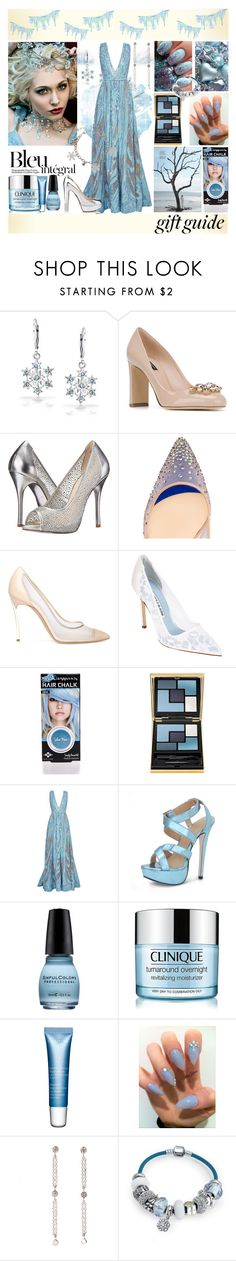 """""""Gift Guide: Your Bestie"""" by yours-styling-best-friend ❤ liked on Polyvore featuring Bling Jewelry, Dolce&Gabbana, Chinese Laundry, Christian Louboutin, Casadei, Manolo Blahnik, Yves Saint Laurent, Elie Saab, Anja and Clinique"""