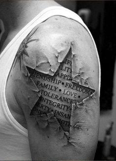 Resultado de imagen para black and grey tattoo designs half sleeves