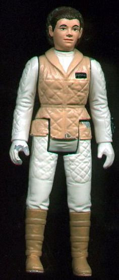 Leia Hoth Painted Sample (Urethane and Plastic) - Star Wars Collectors Archive