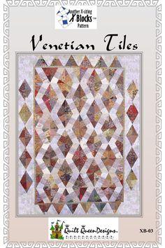 xblocks - venetian tiles - patricia pepe - basix - quilting pattern