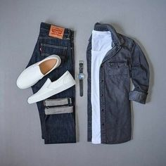We Bring You The Best Simple, Stylish and Fashionable Outfit Ideas For Men That Every Men Would Love. Jean Outfits, Cool Outfits, Casual Outfits, Fashion Outfits, Gentleman Mode, Gentleman Style, Outfit Grid, My Outfit, Outfit Ideas