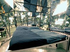 The Mirror Room at Propeller Island City Lodge in Berlin