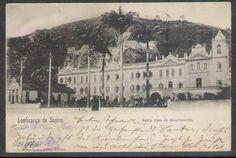 Postal Circulado 1901, Santos, Santa Casa De Misericórdia. - R$ 90,00 em Mercado Livre