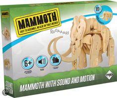 bol.com | Dinosaur Mammoet 3d RoboTime (RBTA400) | Speelgoed 3d Puzzel, T Rex, Big Ben