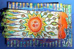 visual blessings: Beach Weekend Art Journal Part 2