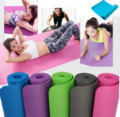 Exercise Yoga Pad Mat Non Slip Durable Pilates Physio Fitness Gym Cushion - Affiliate Disclosure: We may earn commissions from purchases made through links in this post Pilates, Hot Yoga Wear, Sport Mat, Yoga Pad, Fitness Stores, Mat Exercises, Yoga Accessories, Yoga Fashion, No Equipment Workout