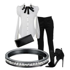 #outfit #fashion #jewels #look #donna #stile #trendy #black #androgina #minimal