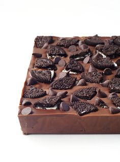 Oreo Truffle Chocolate Bar — Sweetest Menu
