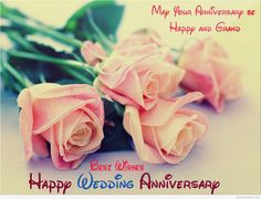 Happy Anniversary Wishes Images and Quotes. Happy wedding anniversary wishes, happy birthday marriage anniversary Happy Anniversary Wishes, Marriage Anniversary, Wedding Anniversary, Anniversary Cards, Red And White Roses, Red Roses, Flower Images, Flower Pictures, Rosa Individual