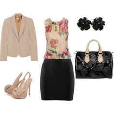 Spring business casual. Love!