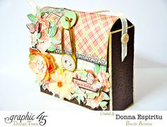 My Scrapbox: Graphic 45: Set of cards with matching bag