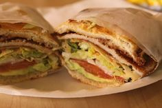 Mexican Milanese Style Sandwiches or Tortas