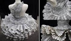 Resultado de imagen para diseños de moda reciclada