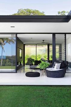 a modern home filled with monochrome decorating ideas