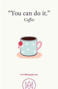 I can. You can. We can. Bring it on Monday - coffee is loading ;-) #MondayMotivation #Coffee #JustDoIt