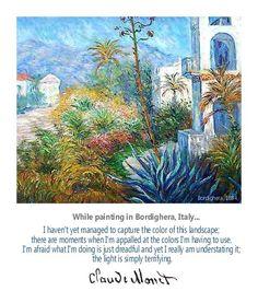 "Claude Monet, ""Bordighera,"" 1884"