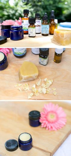 DIY solid perfume with shimmer - perfect for your purse!   HelloNatural.co