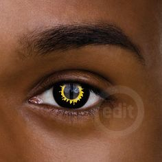Special Effects Contact Lenses Cat Eye Contacts, Halloween Contacts, Black Contact Lenses, Werewolf, Werewolves
