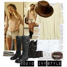 90210 ivy's cholth  | Ivy 90210 Fashion