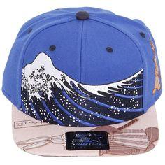 STARTER BLACK LABEL Looney Tunes   Samurai Baseball Hat - Blue Brown (£32)  ❤ liked on Polyvore featuring mens 7b03250b1e1