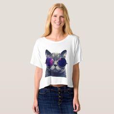 #vintage - #Women's BellaCanvas Boxy Crop Top T-Shirt