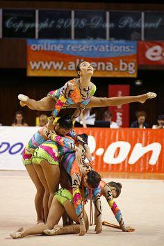 Rhythmic Gymnastics Team (BRA) Varna 2008 Competition