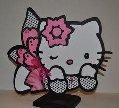 Sassy Hello Kitty Centerpiece. $20.00, via Etsy.