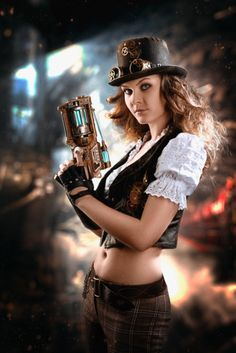 "steampunkopath:  "" Steampunk Girls http://steampunkopath.tumblr.com/  """