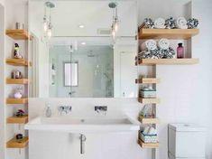 Alors besoin d'un astuce rangement salle de bain pour rendre l'espace encore plus fonctionnel? Regardez toutes ces idées intéressantes et très créatives:
