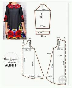 Amazing Sewing Patterns Clone Your Clothes Ideas. Enchanting Sewing Patterns Clone Your Clothes Ideas. Hand Embroidery Patterns, Dress Sewing Patterns, Blouse Patterns, Sewing Patterns Free, Free Sewing, Sewing Tutorials, Clothing Patterns, Sewing Projects, Sewing Blouses