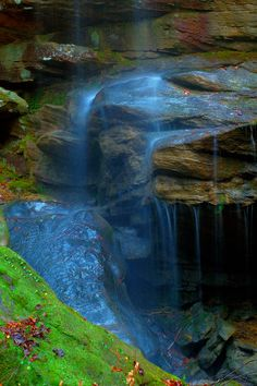 Falling Softly, Sipsey Wilderness, Bankhead National Forest, Alabama
