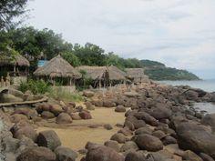 Picnic shacks, Son Tra peninsula
