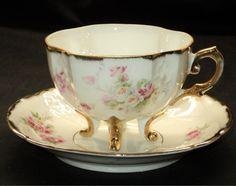 Antiques Cups, Teas Time, Antiques Euopean, Teas Cups, Antiques Teapots, 4 Foot Simplytclub