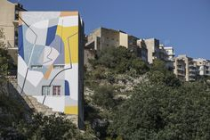 Art (2017) by GUE in Ragusa, Sicily. #gue #ragusa #festiwall #FestiWall2017 #sicily #italy #Streets #Walls #wall #mural #muralism #wallpainting #painting #island