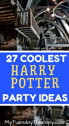 Harry Potter Party Ideas That Will Inspire You to Host the Most Amazing Harry Potter Birthday Party. These ideas are for adults too. Halloween Party ideas..