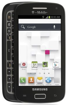 """$129.99 Samsung T699 """"Galaxy S Relay 4G"""" T-Mobile Android Phone - Black"""