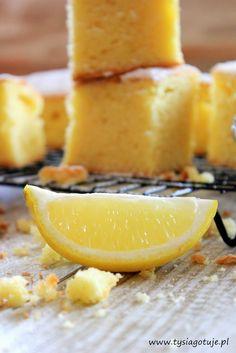 Szybkie ciasto cytrynowe | Tysia Gotuje
