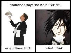 All butlers should look, act, and sound like Sebastian.  They should also all be named 'Sebastian'.
