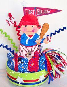 Hockey Birthday Cake Toppers