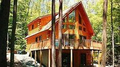 One of over 200 log home shell packages you can build yourself or we can build for you on your land! Log Home Design Plan and Kits for Black Hawk Log Home Kits, Log Home Plans, Cabin Kits, Cabin Plans, Cabin Ideas, House Plans, House Ideas, Cheap Log Cabins, Interior Balcony
