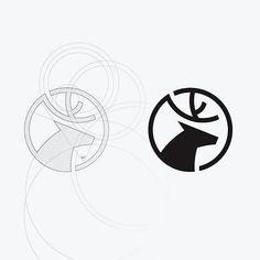 via @learnlogodesign - Deer Grid by @jimmituan