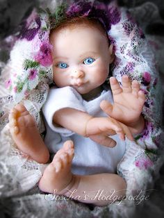 """Resin cast, Baby Lyssa 5"""""""