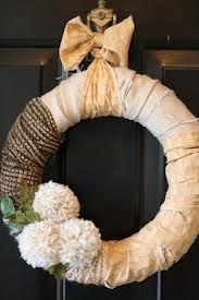 fabric wreath ideas - Google Search